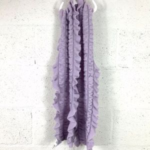 New York and Company Lavender Scarf. One Size.